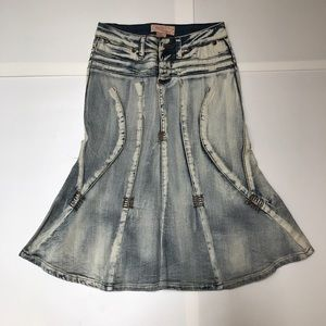 Candid's Jean Skirt
